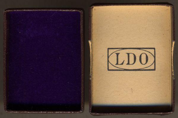 LDO-Schachtel für die Anschlussmedaille Sudetenland