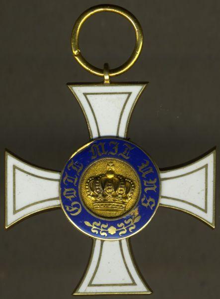 Preußen, Kronenorden 3. Klasse (2. Modell)
