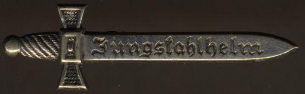 Jungstahlhelm-Mitgliedsabzeichen - Steinhauer & Lück / Lüdenscheid