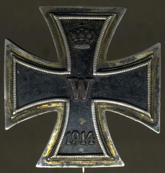 "Reduktion / ""Prinzengröße"" - Eisernes Kreuz 1. Klasse 1914 - Godet / Berlin"