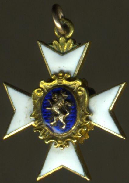 Miniatur - Schwarzburg-Sondershausen, Fürstlich Schwarzburgisches Ehrenkreuz