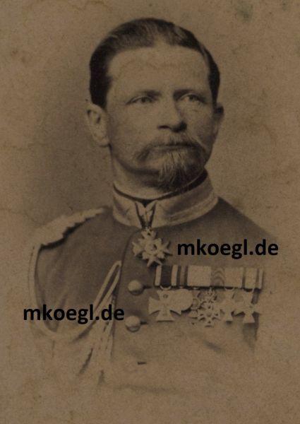 Portrait des Generals der Infanterie Maximilian Verri della Bosia