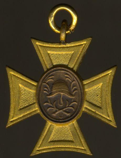 Miniatur - (Freistaat) Bayern, Feuerwehr-Verdienstkreuz