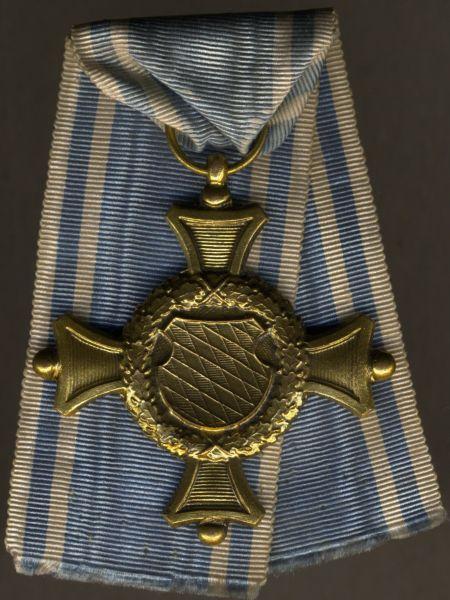 Bayern, Offiziers-Dienstauszeichnung 2. Klasse