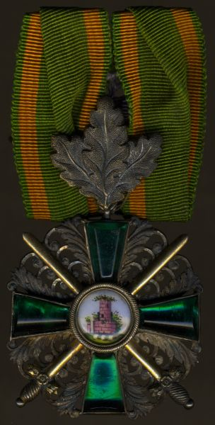 Baden, Orden vom Zähringer Löwen Ritterkreuz 2. Klasse mit Eichenlaub & Schwertern