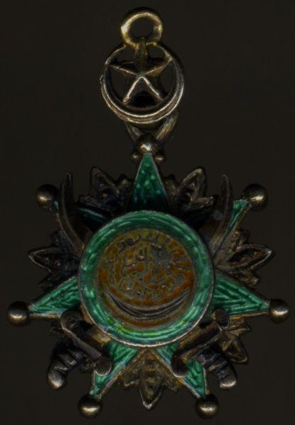 Miniatur - Osmanisches Reich, Osmanje-Orden mit Säbeln