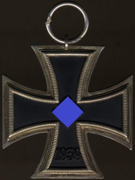 Eisernes Kreuz 2. Klasse 1939 - Otto Schickle / Pforzheim