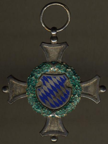 Bayern, Offiziers-Dienstauszeichnung 1. Klasse - Eduard Quellhorst / München