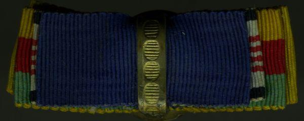 4er Knopflochdekoration mit Konstantinopel-Medaille