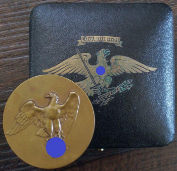 Medaille des Preuß. & Reichsministers für Ernährung & Landwirtschaft mit Etui - Pr. Münze / Berlin