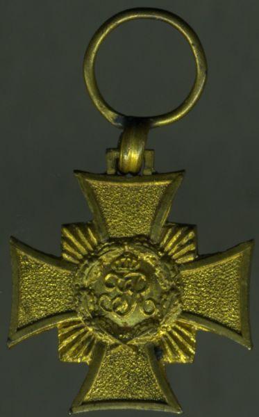 Miniatur - Sachsen, Erinnerungskreuz 1866