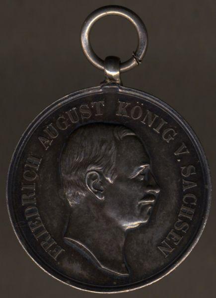 Sachsen, Medaille für Treue in der Arbeit (Friedrich August)