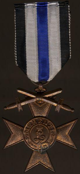 Bayern, Militär-Verdienstkreuz 3. Klasse mit Schwertern am Bande für Kriegsverdienst
