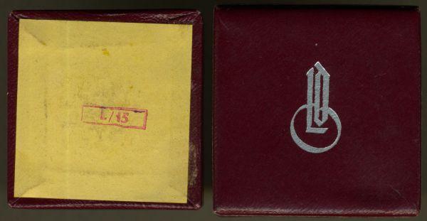 """LDO-Schachtel zur Miniatur eines Mutterkreuzes - LDO-Logo 1. Form (!) - """"L/15"""""""