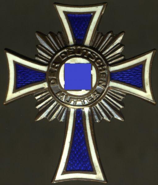 Reduktion (!) - Mutterkreuz in Bronze