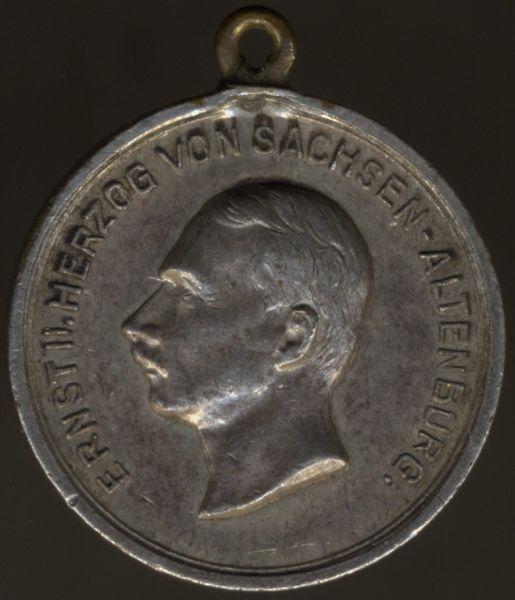 Miniatur - Sachsen-Altenburg, Silberne Verdienstmedaille des SEHO