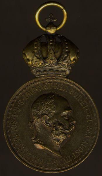 Österreich, Bronzene Militär-Verdienstmedaille (Franz Joseph I.)