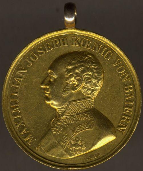 Bayern, Goldene Tapferkeitsmedaille / Militär-Verdienstmedaille