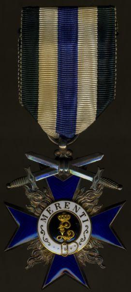 Bayern, Militär-Verdienstorden 4. Klasse mit Schwertern - Jacob Leser / Straubing
