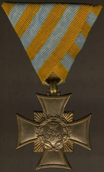 Sachsen, Erinnerungskreuz 1866 für Kämpfer