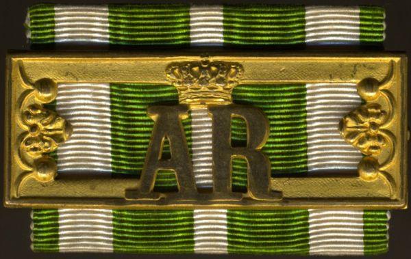 Sachsen, Landwehr-Dienstauszeichnung 2. Klasse (Schnalle)