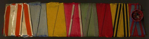 8er Ordensbänderschnalle des Majors Guido Freiherr von Gillhauszen
