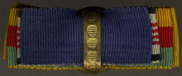 4er Knopflochdekoration mit Osmanisches Reich, Konstantinopel-Medaille