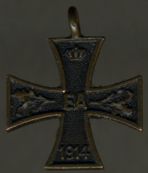 Miniatur - Braunschweig, Kriegsverdienstkreuz 2. Klasse