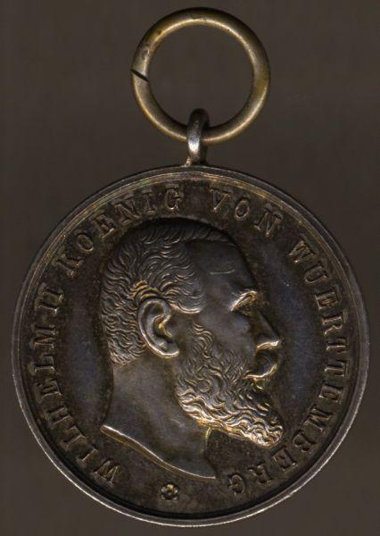 Württemberg, Silberne Militär-Verdienstmedaille