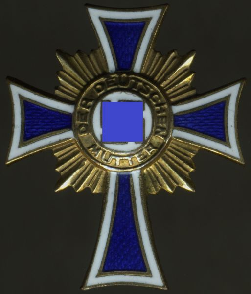 Reduktion (!) - Mutterkreuz in Gold