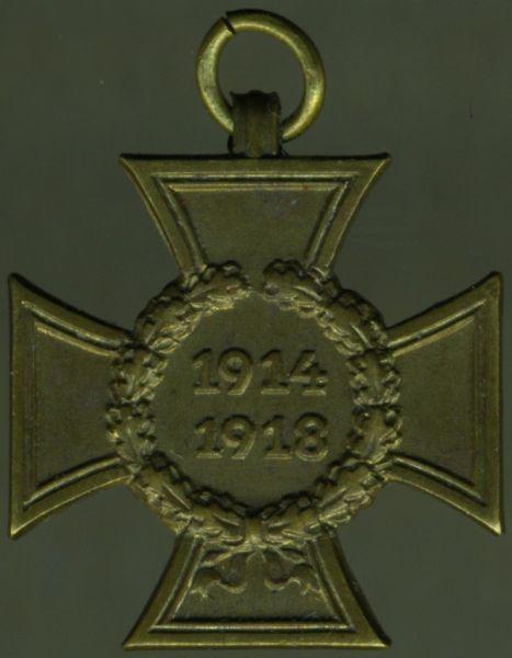 Miniatur - Kriegsteilnehmerehrenkreuz