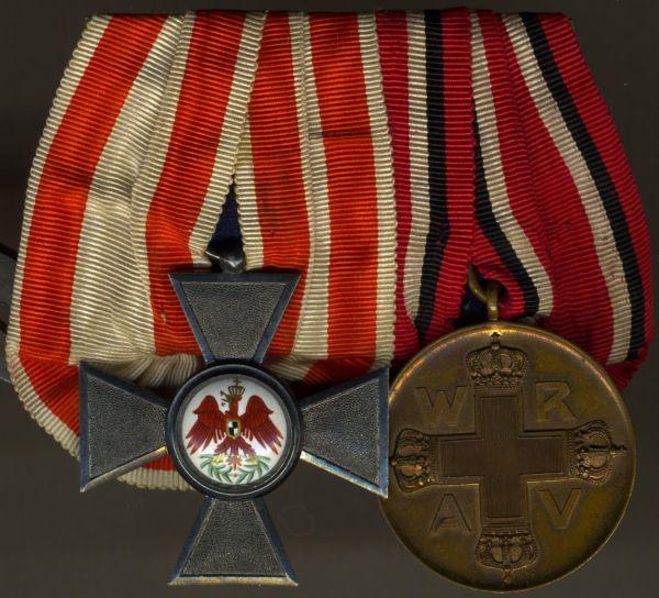 2er Ordensschnalle Preußen