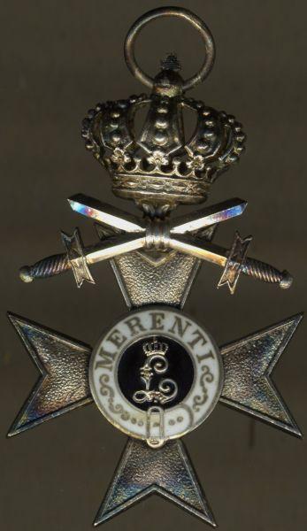 Bayern, Militär-Verdienstkreuz 2. Klasse mit Krone & Schwertern