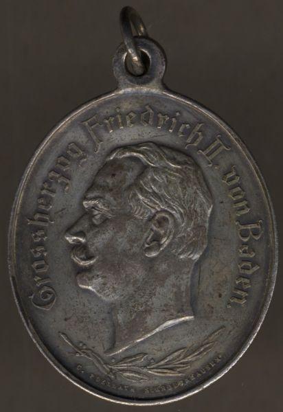 Medaille zum 50. Jubiläum des 5. Badischen Infanterie-Regiments