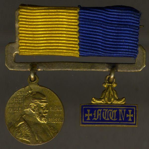2er Miniatur-Ordensschnalle Preußen