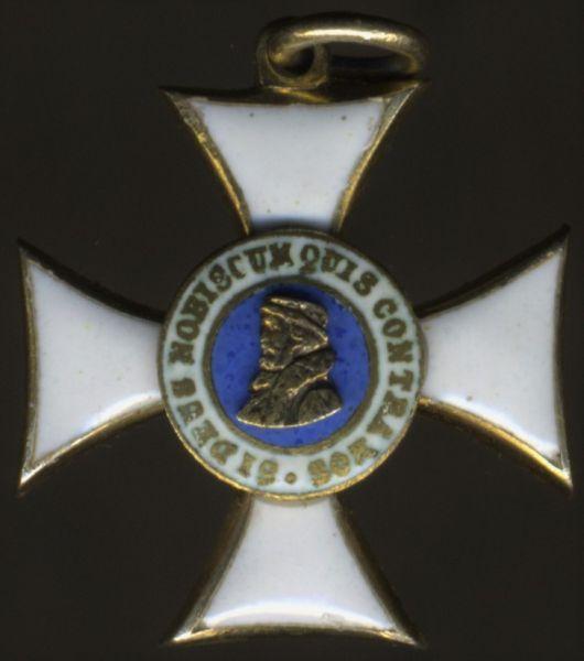 Miniatur - Hessen-Darmstadt, Philippsorden Ehrenkreuz