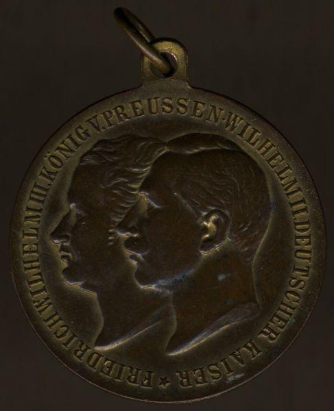 """Medaille zum 100. Jubiläum des I.R. 16 """"Freiherr von Sparr"""" (3. Westfäl.)"""