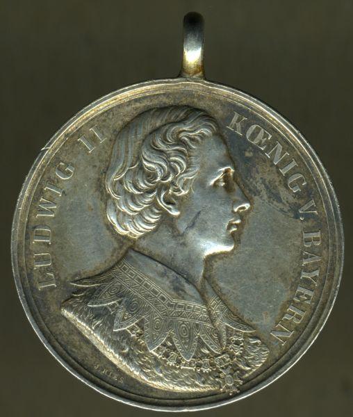 "Bayern, Bürgermeistermedaille (Ludwig II) - ""Törwang"""