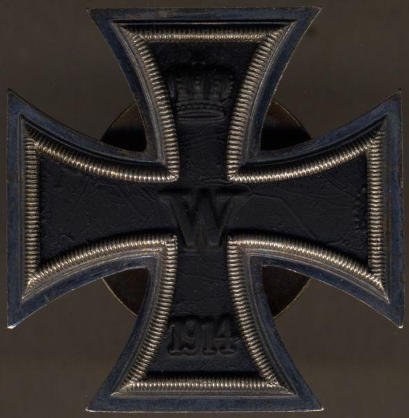 """Eisernes Kreuz 1. Klasse 1914 - Schraubscheibe - """"L54"""" (!)"""