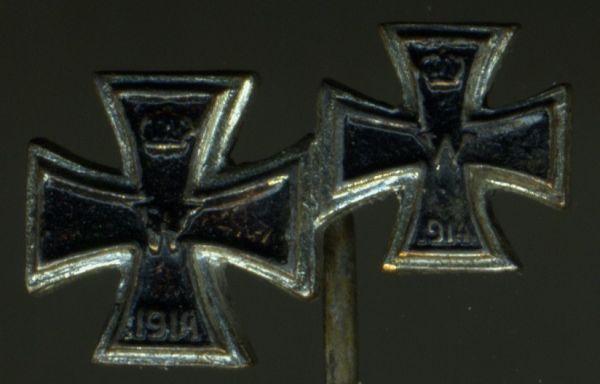 2er Miniaturenspange EK 1914