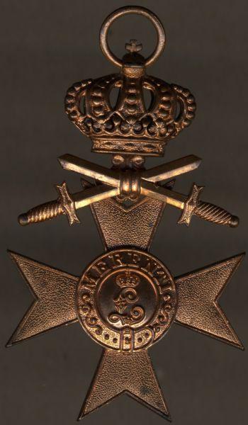 Bayern, Militär-Verdienstkreuz 3. Klasse mit Krone & Schwertern