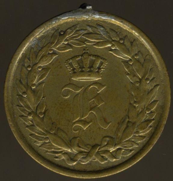 Württemberg, Kriegsdenkmünze 1866 für einen Feldzug