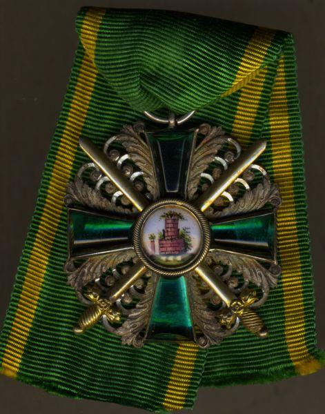 Baden, Orden vom Zähringer Löwen Ritterkreuz 2. Klasse mit Schwertern