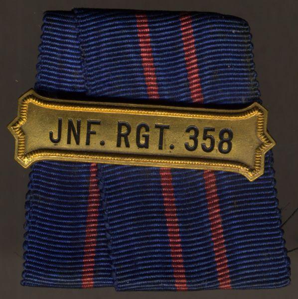 Regimentskreuz-Spange des Infanterie-Regiments Nr. 358