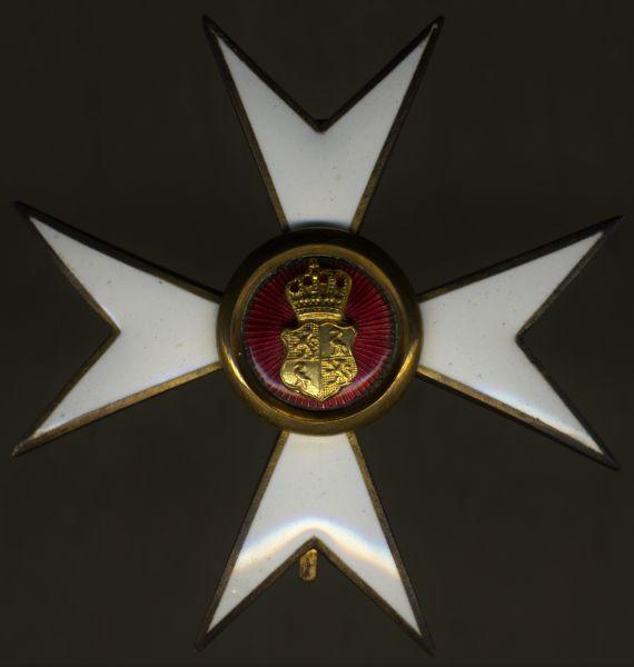 Reuß, Offizierkreuz des Fürstlich Reußischen Ehrenkreuzes