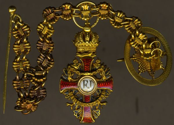 Miniatur - Österreich, Franz-Joseph-Orden Offizierskreuz
