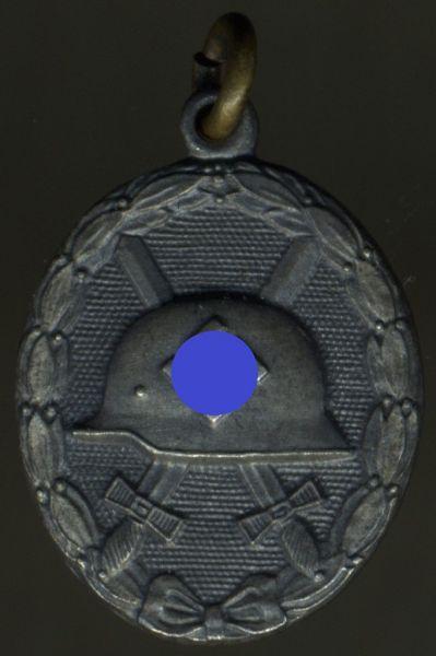 Miniatur - Verwundetenabzeichen 1939 in Silber