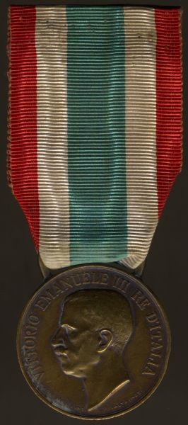 Italien, Einheitserinnerungsmedaille 1848-1918