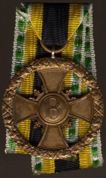 Sachsen-Meiningen, Medaille (Kreuz) für Verdienst im Kriege