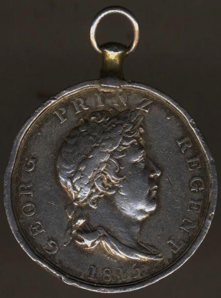 "Hannover, Waterloo-Medaille - ""SOLDAT JOH. OFFERMANN"""